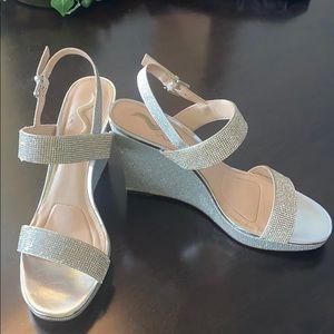 Size 10 Nina dress Wedge Dress Shoe